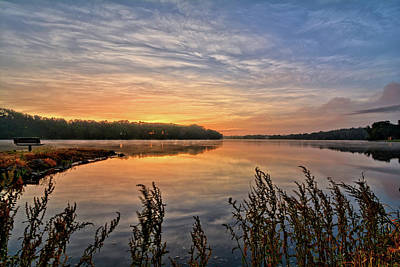 Photograph - Beeds Lake Morning by Bonfire Photography