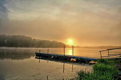Photograph - Beeds Lake Sunrise 2 by Bonfire Photography