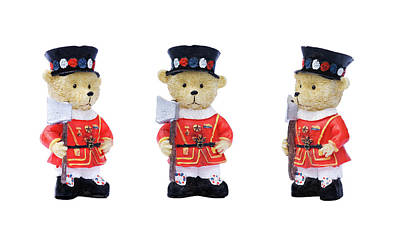 Photograph - Beefeaters by Meirion Matthias