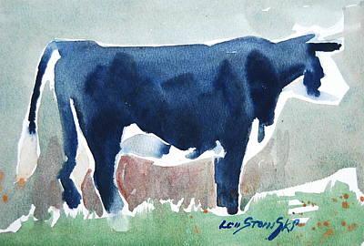 Painting - Beefer Study by Len Stomski