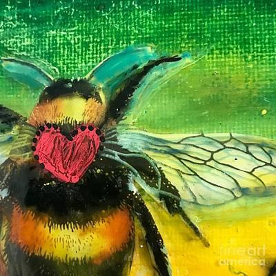 Beehave Art Print