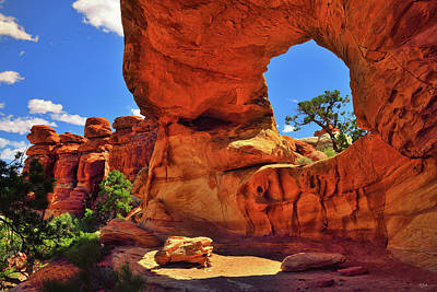 Photograph - Beehive Arch by Greg Norrell