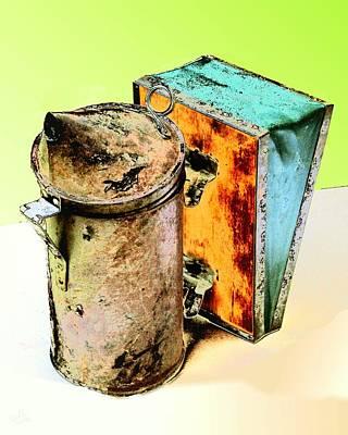 Digital Art - Beekeeper's Tools by Cliff Wilson