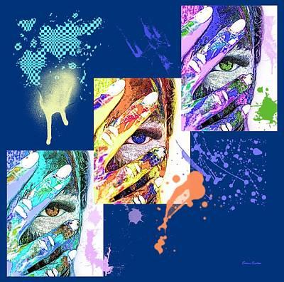 Digital Art - Been Painting by Ericamaxine Price