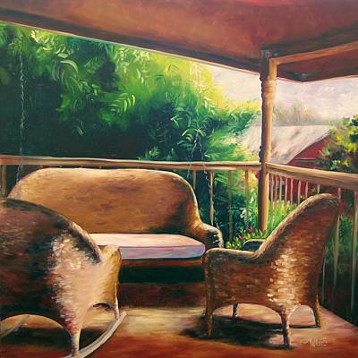 Bamboo Farm Painting - Beer 30 by Lori Twiggs