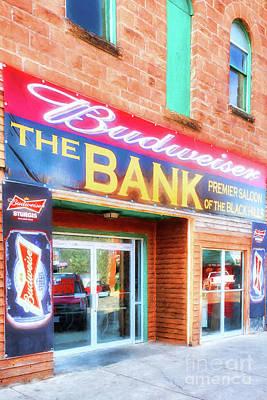 Photograph - Beer Bank In Sturgis by Mel Steinhauer