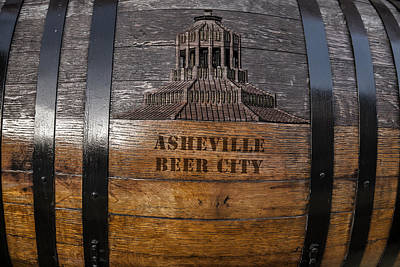 Digital Art - Beer Barrel City by John Haldane