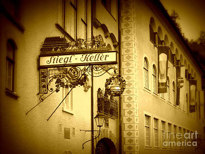 Beer Cellar In Salzburg Art Print