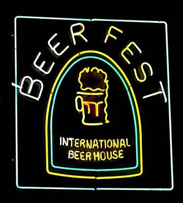 Photograph - Beer Fest by Nadalyn Larsen