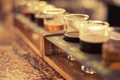 Beer Flights Art Print