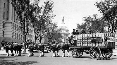 1920 Photograph - Beer For The President by Jon Neidert