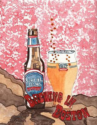 Beer From A Bottle No.6 Original by Connie Valasco