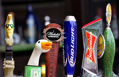 Photograph - Beer Handles by David Lee Thompson