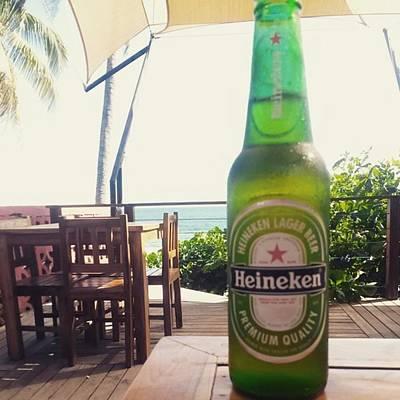 Beer Photograph - #beer #heineken by Reyna Cardona