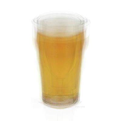 Molsons Beer Photograph - Beer Pint Glass by Steve Socha