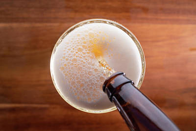 Beer Photos - Beer Pour by Steve Gadomski