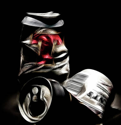 Empty Beer Cans Photograph - Beer by Sam Smith Photography