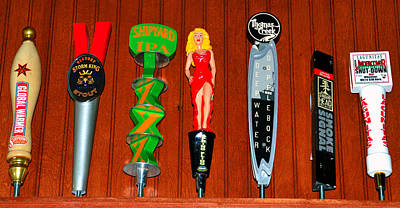 Photograph - Beer Tap Room by David Lee Thompson
