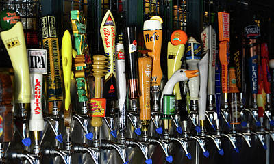 Photograph - Craft Beers On Tap by David Lee Thompson