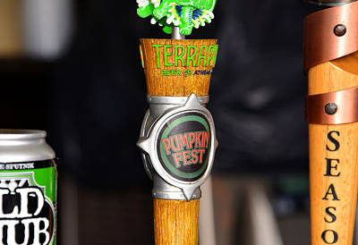 Photograph - Beer Taps Three by David Lee Thompson