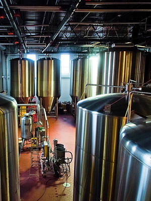 Sour Photograph - Beer Vats by Linda Unger
