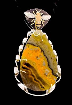 Cabochon Jewelry - Bee's Art by Marie-Claire Dole