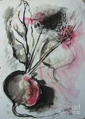 Beet Art Print by Jamey Balester