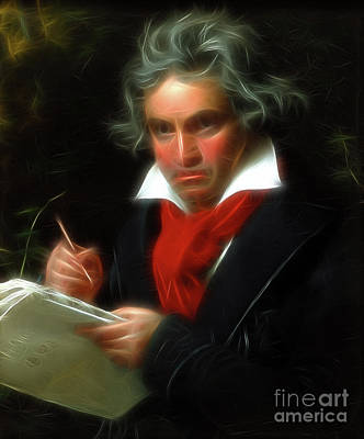 Photograph - Beethoven  by Doc Braham