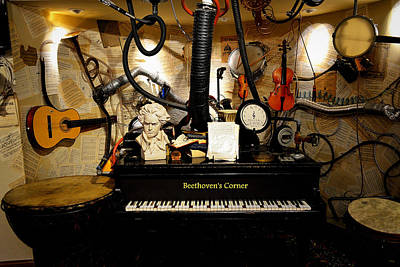 Photograph - Beethoven's Corner Too by Glenn McCarthy