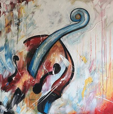 Recently Sold - Music Paintings - Beethovens Passion by Germaine Fine Art