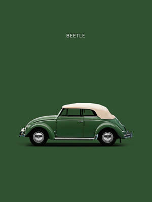 Vw Beetle Photograph - Beetle 53 by Mark Rogan