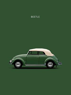 Vw Beetle Photograph - Beetle 53 by Mark Rogan