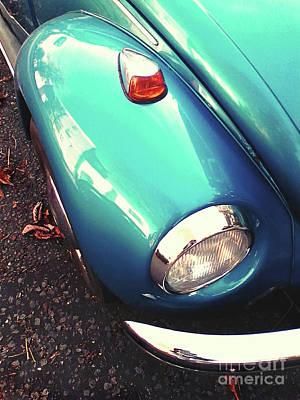 Photograph - Beetle Blue by Rebecca Harman