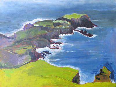 Painting - Beetlehead by Kathleen Barnes