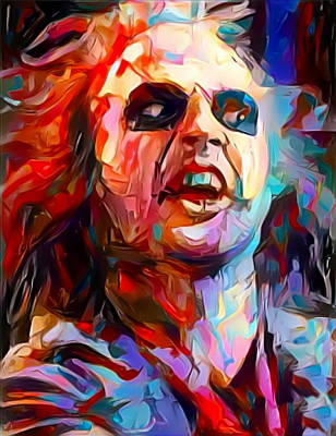Painting - Beetlejuice by Paul Van Scott