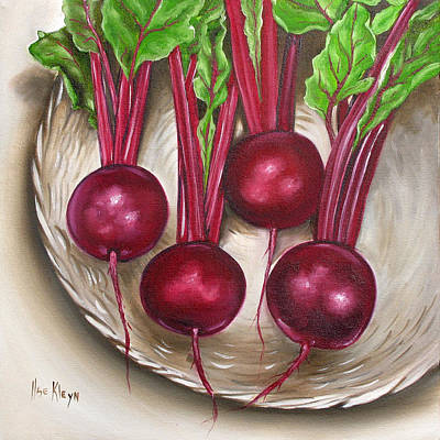Beetroot Art Print by Ilse Kleyn