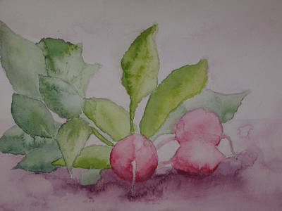 Beets Art Print by Diana Prout