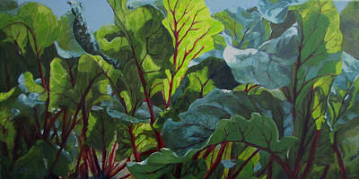 Painting - Beets O My Heart by Karen Ilari