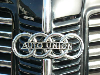 Chrome Emblem Photograph - Before Audi Was Audi by Tammy Forristall