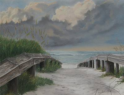 Before Katrina Art Print by Barbara Keel