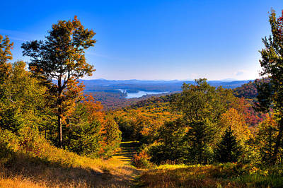 Photograph - Before Peak At Mccauley Mountain by David Patterson