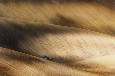 Moravia Photograph - Before Seeding by Piotr Krol (bax)