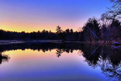 Photograph - Before Sunrise On Bentley Pond by Dale Kauzlaric