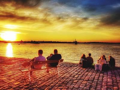 Photograph - Before Sunset In Suomenlinna  by Paul Mc Namara