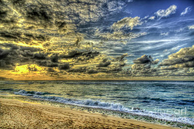 Photograph - Before Sunset North Shore Oahu Hawaii Collection Art by Reid Callaway