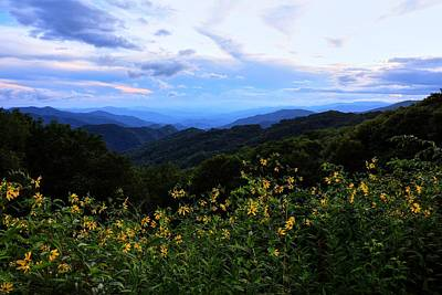 Photograph - Before Sunset On The Blue Ridge Parkway by Carol Montoya