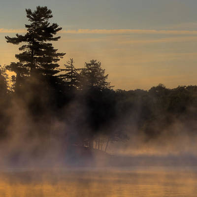 Before The Channel - Old Forge Pond Art Print