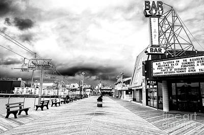 Before The Crowds At Seaside Heights Art Print