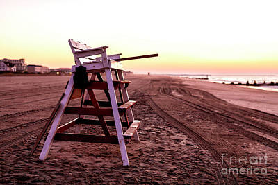 Photograph - Before The Day Begins In Cape May by John Rizzuto