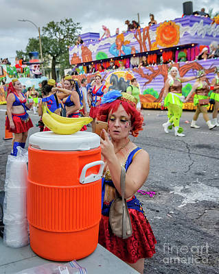 Photograph - Before The Krewe Of Boo Parade by Kathleen K Parker